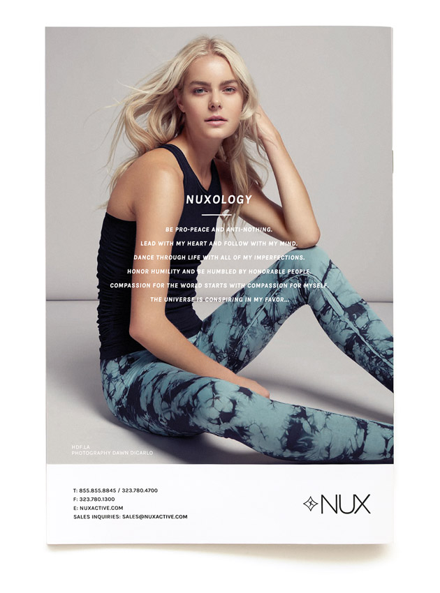 NUX Spring Catalog