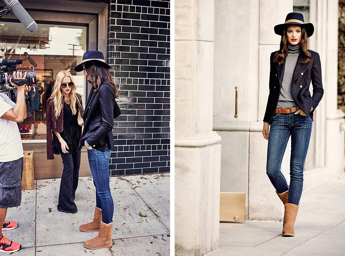 UGG x Rachel Zoe, Classic Slim LookBook